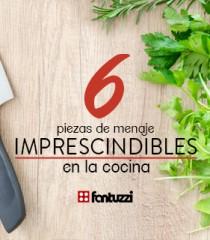 6 Elementos imprescindibles para tu cocina